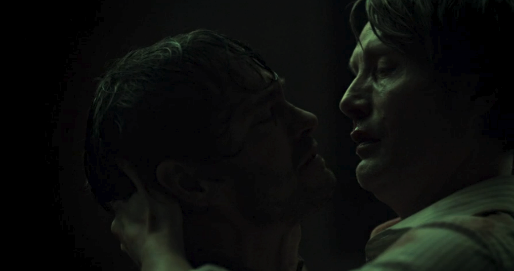 Hannibal and Will have a bad breakup.